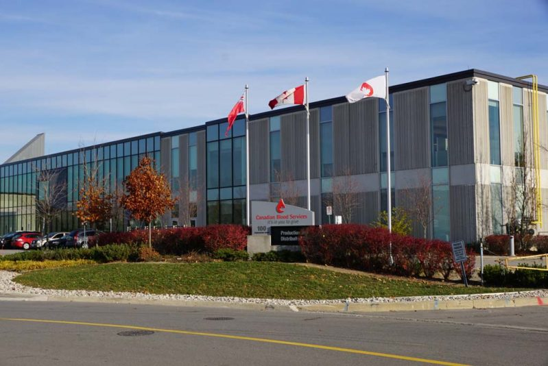 Besseling Mechanical - Canadian Blood Services – Tier 2 Production Facility